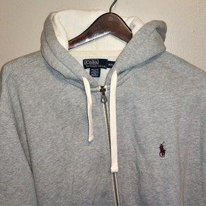 Polo/Ralph Lauren heavy double knit zipup hoodie